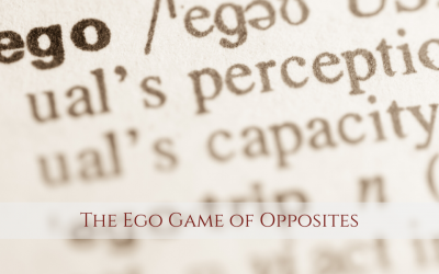The Ego Game of Opposites with Sue Dumais