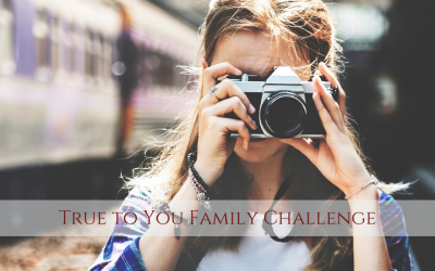 True to You Family Challenge with Jess Wilson